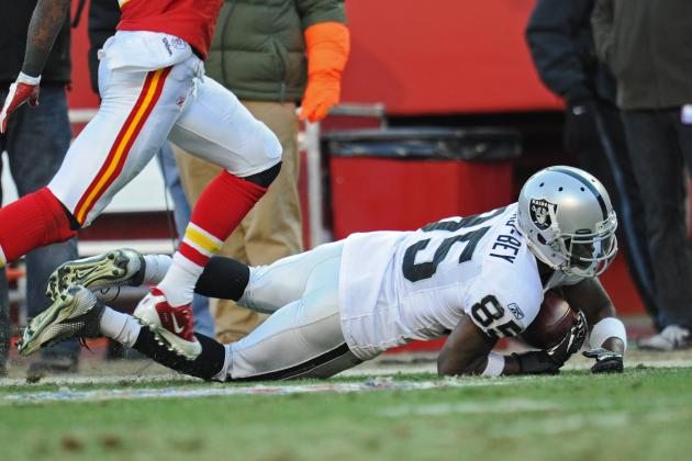 Darrius Heyward-Bey: Oakland Raiders Can't Afford Blunders in 2012