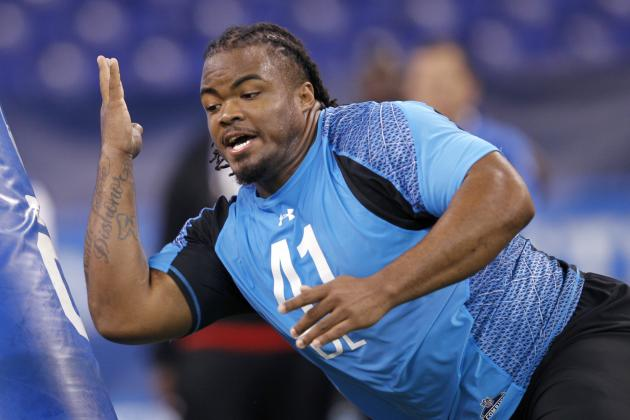 Dontari Poe Is Focus of Kansas City Chiefs' Rookie Minicamp