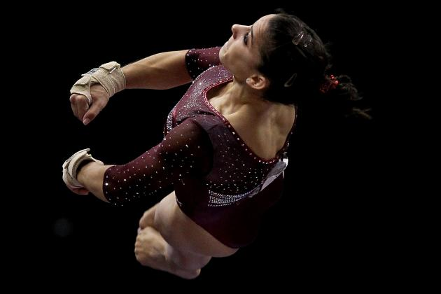 London 2012: U.S. Gymnast Alexandra Raisman Poised for an Olympic Bid