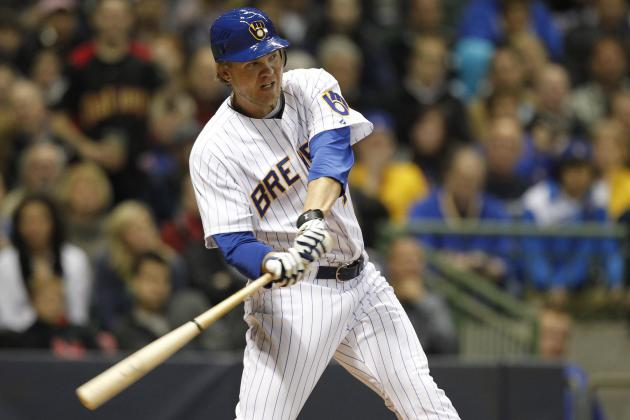 Corey Hart Is Milwaukee Brewers' Best First Base Fix