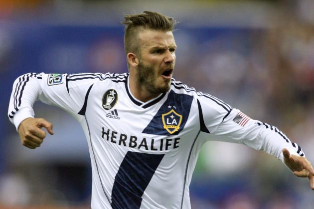 Los Angeles Galaxy vs. Montreal Impact: Rating David Beckham's Performance