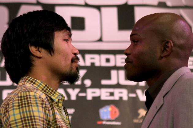 HBO's Pacquiao/Bradley Face off Even More Boring Than Mayweather/Cotto Face off