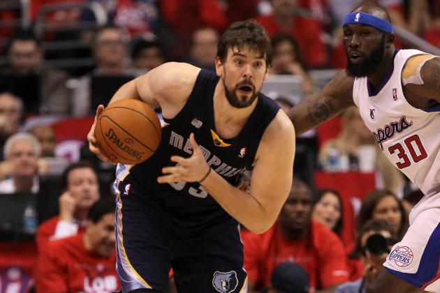 Grizzlies vs. Clippers: Will Memphis Grizzlies Big Men Play Big Again in Game 7?