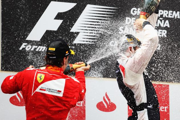 Pastor Maldonado Becomes F1 2012's Fifth Different Race Winner at the Spanish GP
