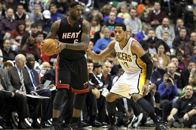 NBA Playoffs 2012: Live Coverage of Indiana Pacers vs. Miami Heat, Game 1