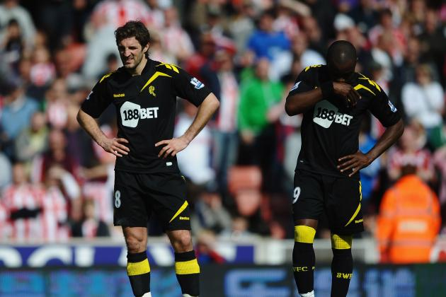 Bolton Forced to Relegation After EPL Tie with Stoke City