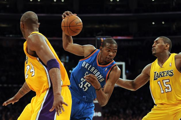2012 NBA Playoffs: Los Angeles Lakers vs. Oklahoma City Thunder Preview