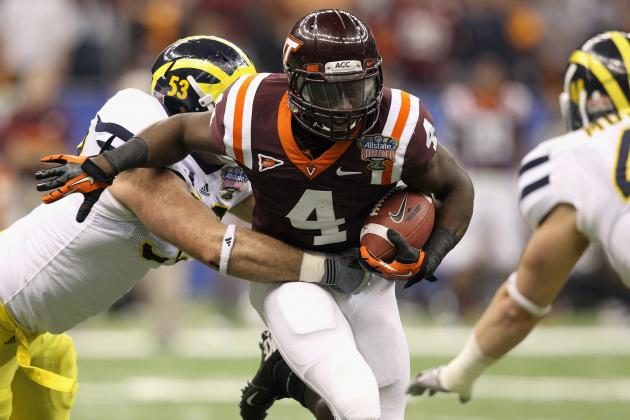 Virginia Tech Football: Looking at Who Replaces David Wilson at RB