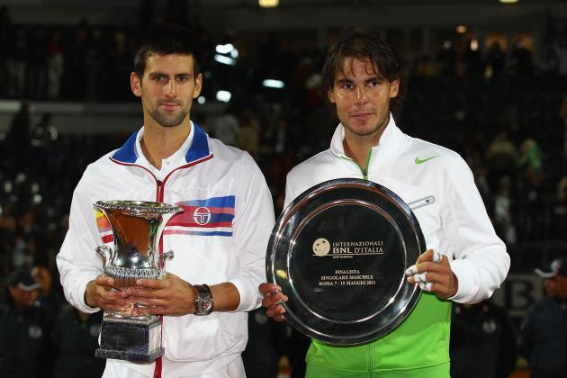 Rafael Nadal, Novak Djokovic, Roger Federer, Rome Masters: A Tournament Preview