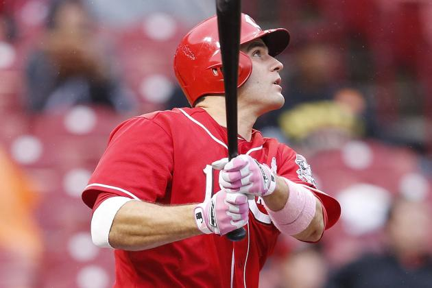 Joey Votto: Reds Star Explodes for 3 Home Runs, Including Walk-Off Grand Slam