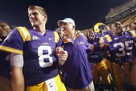 LSU Football: Les Miles' Plan to Air It out in 2012