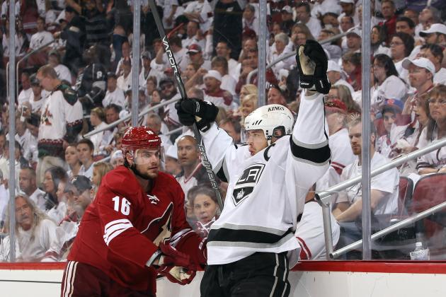 L.A. Kings vs. Phoenix Coyotes: Game 1 Highlights, Twitter Reaction and Analysis