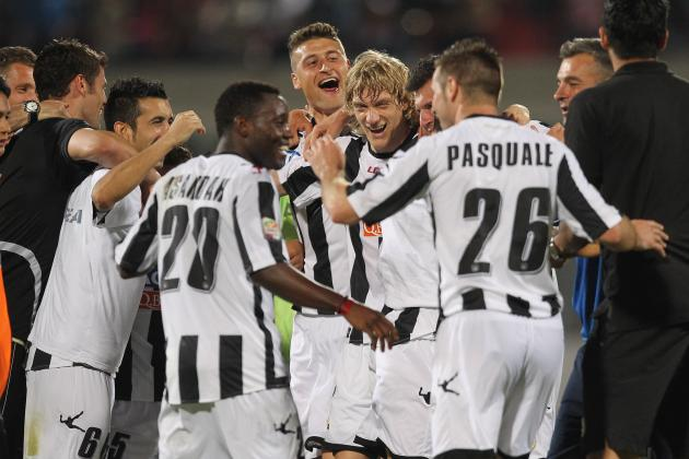 Udinese: Win Against Catania Clinches Champions League Spot
