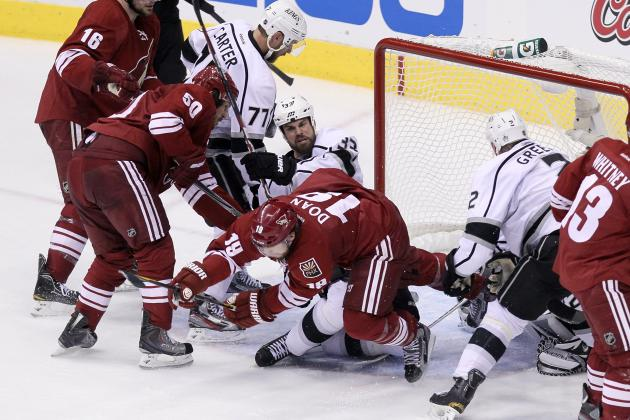 Stanley Cup Playoffs 2012: Coyotes Frustrated and Defeated in Game 1