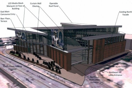 St. Louis Rams Want Major Renovations to the Edward Jones Dome