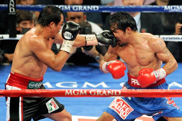 Juan Manuel Marquez Narrows Opponents to Either Erik Morales or Mercito Gesta