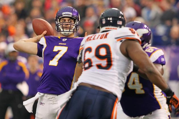 Five Potential Stumbling Blocks for Christian Ponder and Vikings in 2012