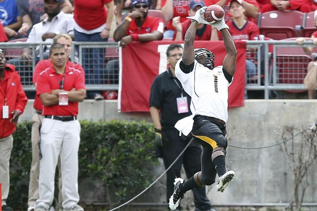 College Football 2012 Top 150 Players: No. 119 Tracy Lampley Southern Miss WR