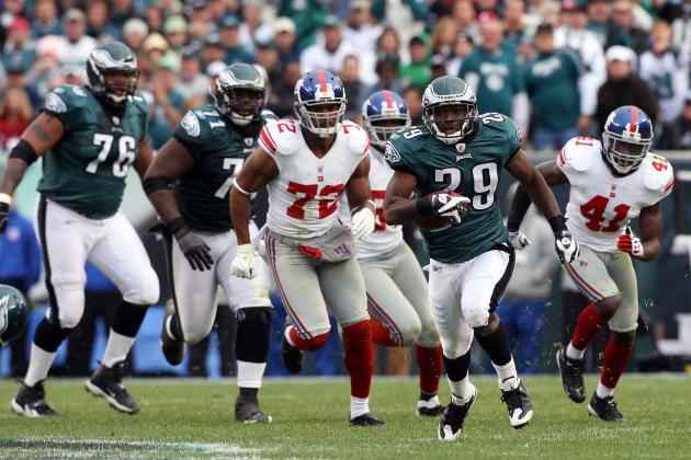 Osi Umenyiora Wishes LeSean McCoy a Happy Mother's Day Because That's Funny?