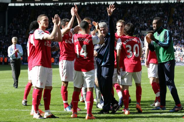 Arsenal Beat West Brom 3-2 to Finish Third in the Premier League