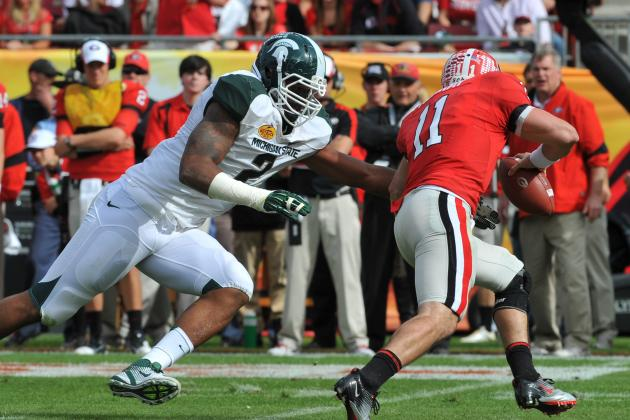 2013 NFL Draft Prospect Focus: Scouting Michigan State DE William Gholston