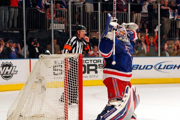 NHL Playoffs 2012: New York Rangers Win Game 1, 3-0, Reaction and Highlights