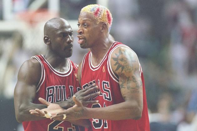 Bulls Fanatic Unveils Massive Michael Jordan, Dennis Rodman Tattoos