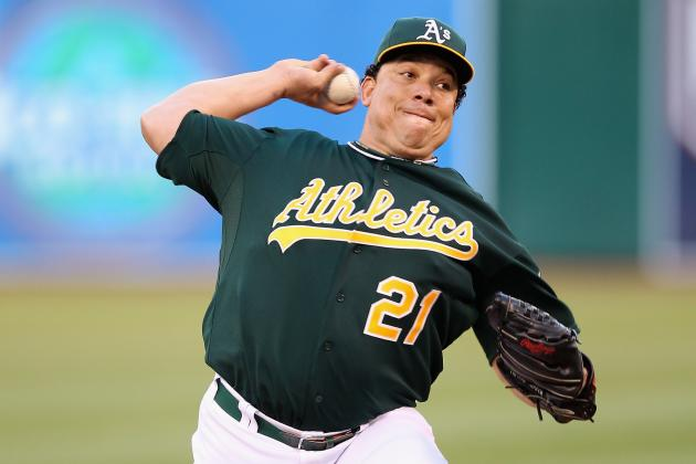 Oakland A's Trying to Catch Texas as Bartolo Colon Hopes to Rebound vs. Angels