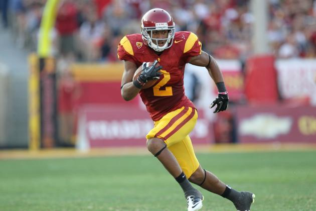 USC Football: Will Marqise Lee Outshine Robert Woods in 2012?