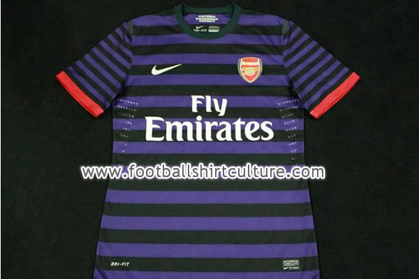 Arsenal Breaking News: Gunners' 2012-13 Away Jersey Is Leaked