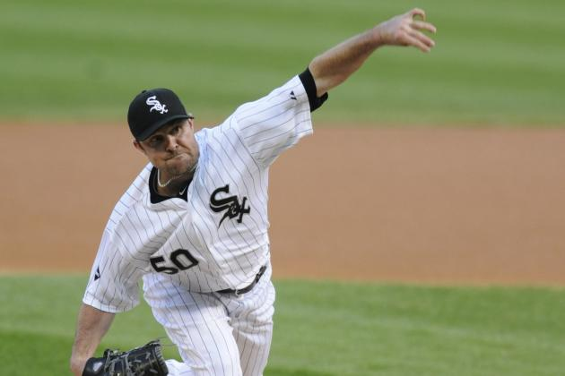 John Danks: Chicago White Sox Lefty Takes Home AL Worst of the Night Honors