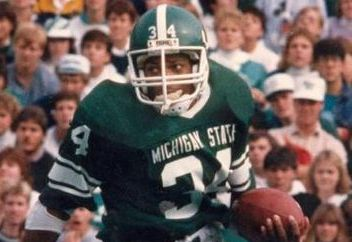 Ex-Spartans Running Back Lorenzo White...