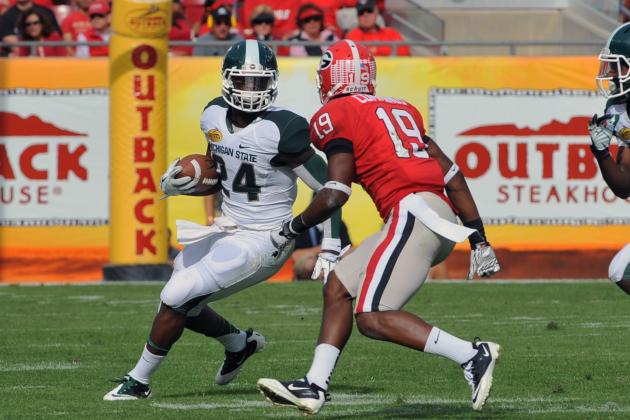 Michigan State Running Back Le'Veon Bell Earns High Praise
