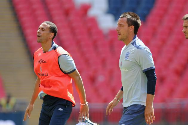 Euro 2012: Rio Ferdinand and Kyle Walker Reportedly Left out of England Squad
