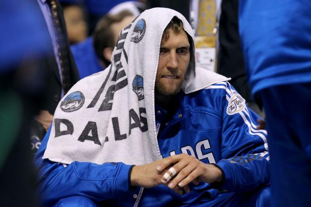 Dirk's Sick NBA Finals Performance More Impressive Than Jordan's 1997 Flu Game