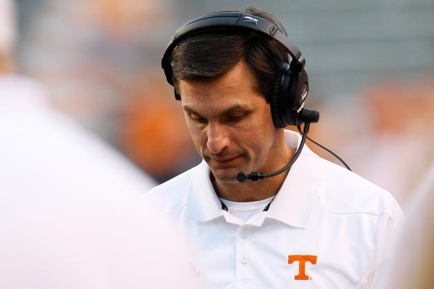 Tennessee Volunteers Football: Is Derek Dooley on the Hot Seat or Not?