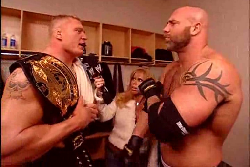 WWE: Is Goldberg the Only Man Who Can Stop Brock Lesnar?