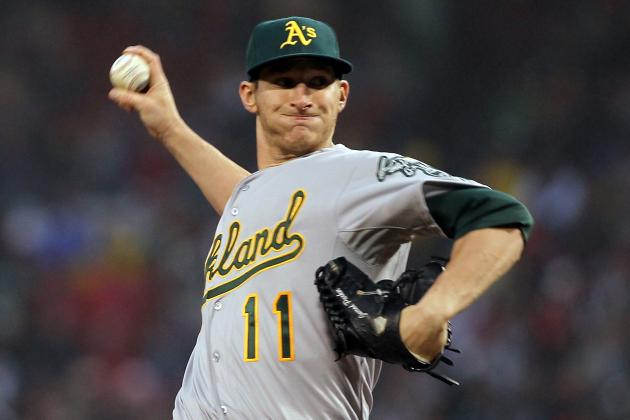 Where Does Jarrod Parker Rank Among A's Recent Top Young Arms?