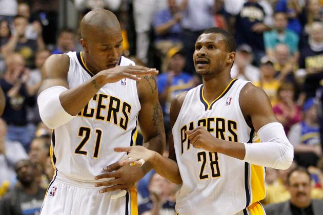2012 NBA Playoffs: Veterans David West and Leandro Barbosa Huge in Win