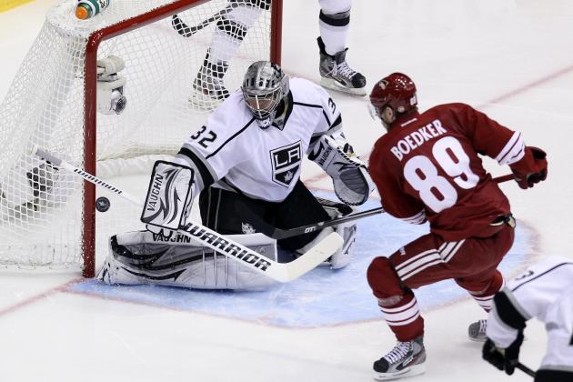 Stanley Cup Playoffs: Kings Dominate Coyotes Again, Gain Commanding Series Edge