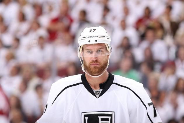 NHL Playoffs 2012: Jeff Carter's Hat Trick Leads Kings to a Game 2 Win