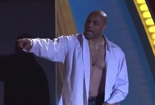 Shaq vs. Charles Barkley Shirt off Video: Watch Loudmouths ...