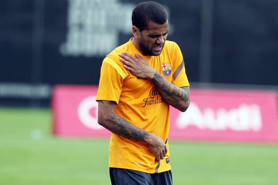 Dani Alves out for Copa Final, Possibly Olympics: Is Barca Selling Him Soon Too?
