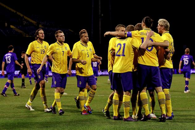 Sweden Euro 2012 Roster: Analyzing the Starting 11 and More