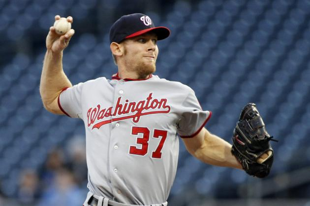 Stephen Strasburg: Nationals Can't Afford to Keep Star Pitcher on Innings Limit