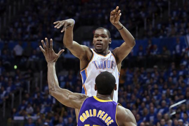 NBA Playoffs 2012: Complete Guide to Lakers vs. Thunder Game 2