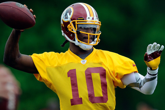 Robert Griffin III and Young QBs with Most to Prove