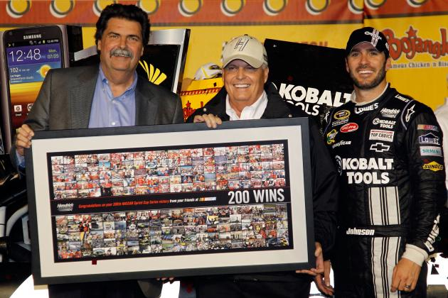 NASCAR: With Win No. 200, Rick Hendrick Reflects on Unusual 2012 Season so Far
