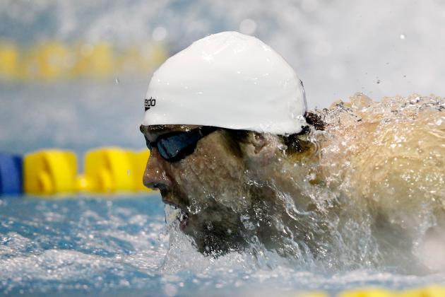 London 2012: Michael Phelps Is 'Sick of the Water,' or so He Says