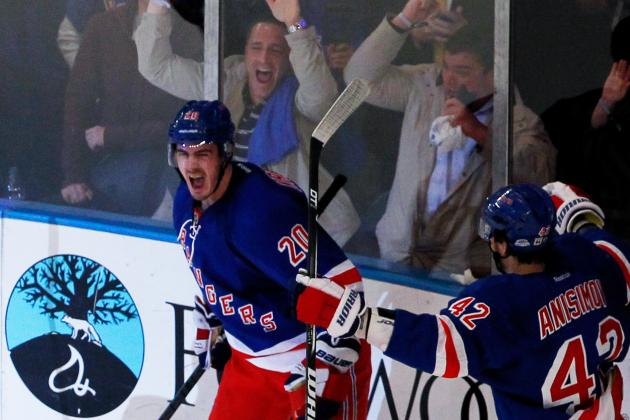 Stanley Cup Playoffs 2012: Chris Kreider Comes Through Again for Rangers